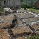 Betónové základy rodinného domu